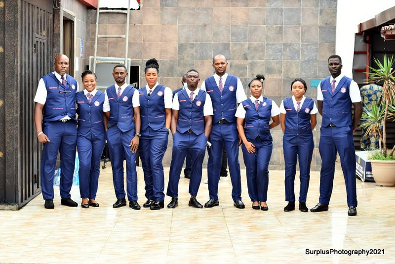 The face of the new uniform of Pathfinders International Limited launched on the 4th of June 2021 at the 1st Memorial Lecture in honour of Mr Job Obinna Onyeukwu Onyenso