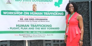 Pathfinders Partners With and Organizes Human Trafficking Workshop for Edo State Government, NGR!