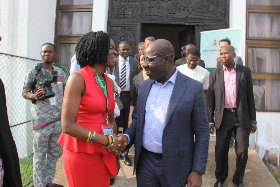 With Governor Obaseki