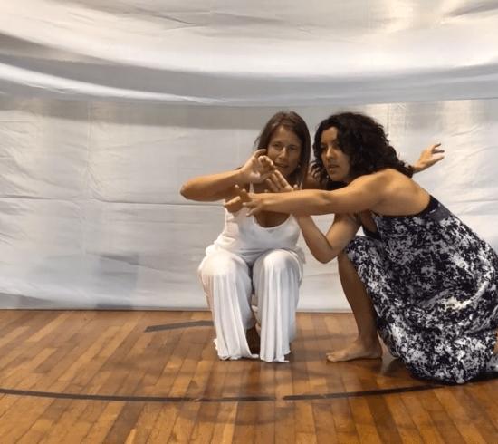 cuatro orientaciones del video blog de baile azul consciente