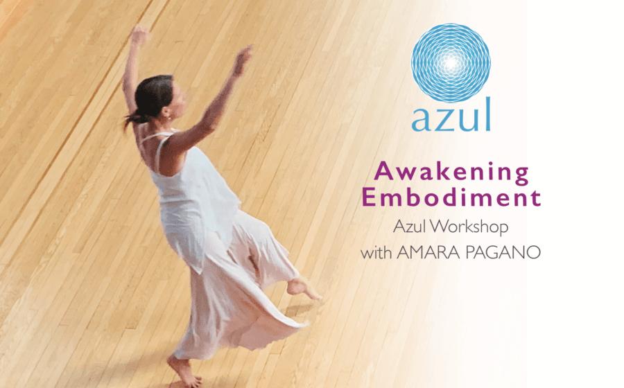 Awakening Verkörperung bewusster Tanzworkshop mit Amara Pagano