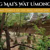 Wat Umong: Ancient Chiang Mai's Underground Temple of the Mad Monk