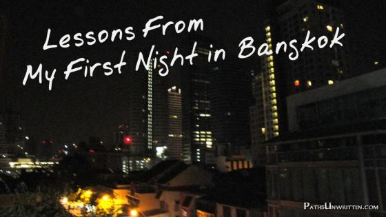 There was no real question about it; I should have gone to bed the second I set foot in that hostel in Bangkok.