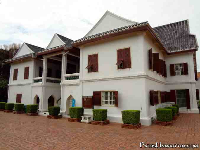 And a later king's residence now used as the main building of the Lopburi National Museum.