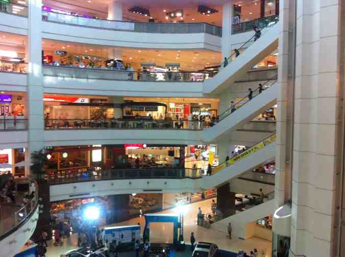 Inside of Central Plaza Pinklao.