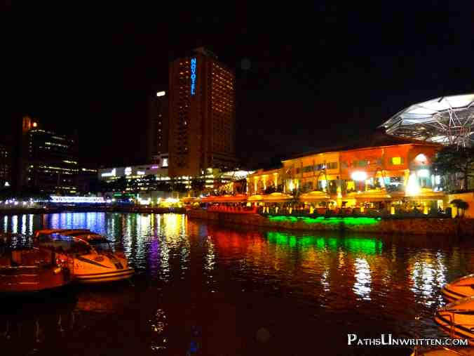The Clarke Quay from Brewerkz.