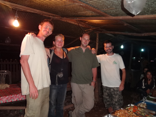 Fleeting friends who helped me through news about one of my oldest friends in Muang Sing, Laos.