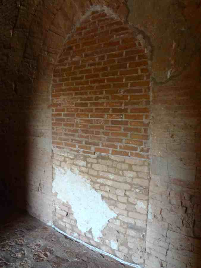 One of the many sealed doors inside Dhammayangyi.