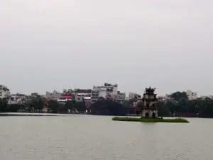 A grey day in Hanoi.