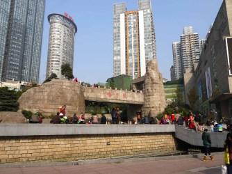 "The ""Guanyin Bridge"" monument."