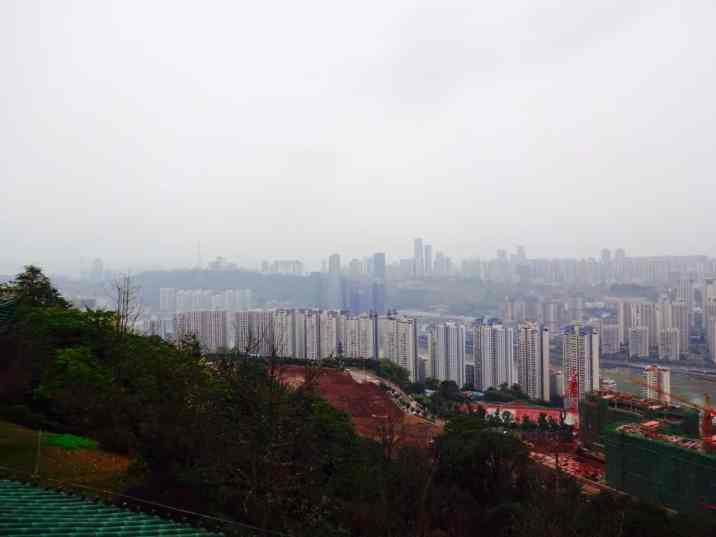 The vast sprawl of Chongqing.
