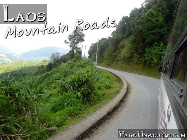 Laos Mountain Roads