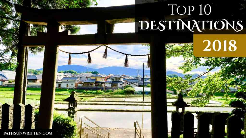 10 Ten Destinations of 2018