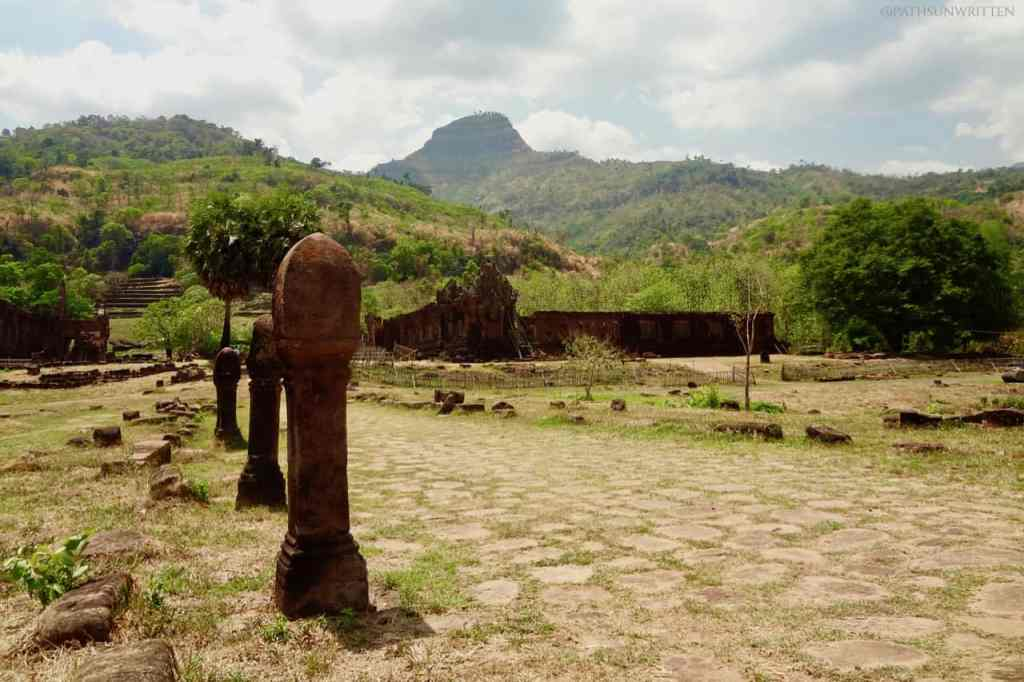 Wat Phou sits at the base of Lingaparvata (Phou Khao) Mountain and was a holy site even before the Khmer Empire.