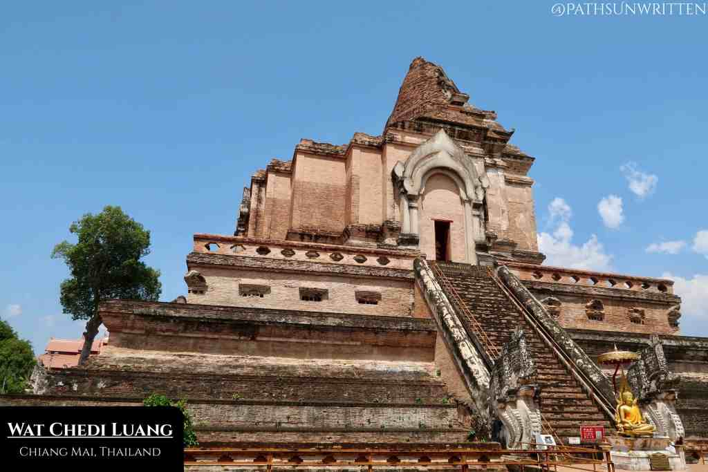 Wat Chedi Luang's scale was unparalleled as it was used to house Thailand's cherished Emerald Buddha.