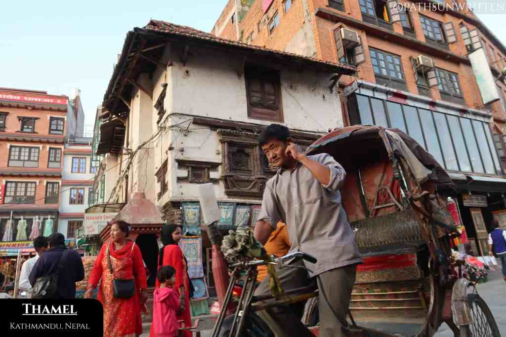 Kathmandu's streets were alive with palpable activity and atmosphere.