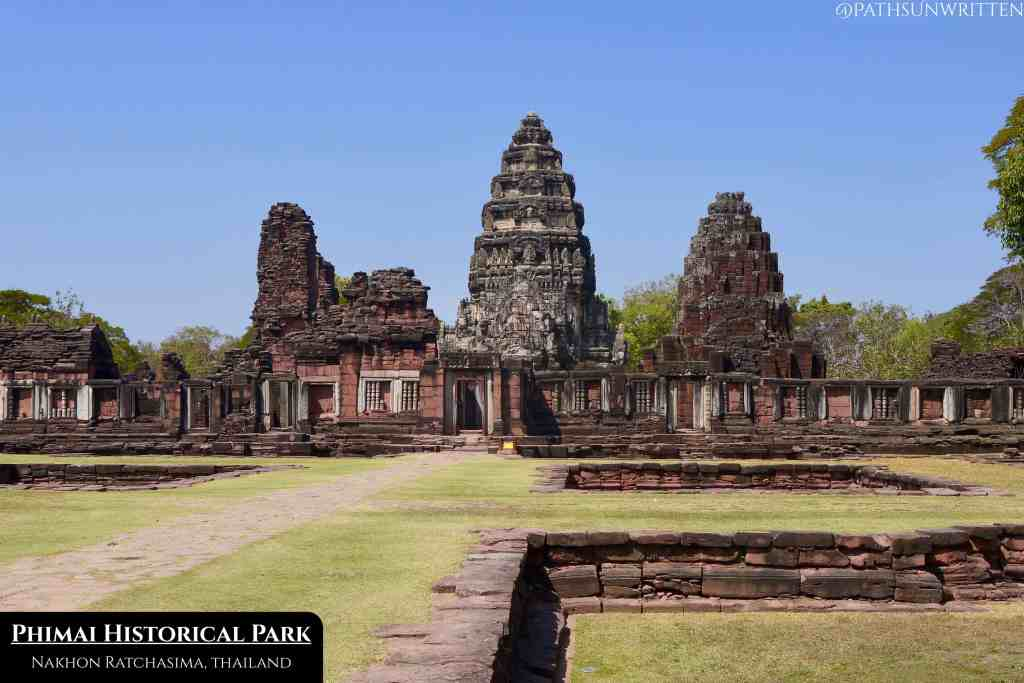 The Angkorian city of Phimai projected the Khmer god-kings' power well into the frontiers of modern-day Thailand.