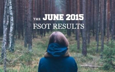 The June 2015 FSOT Results