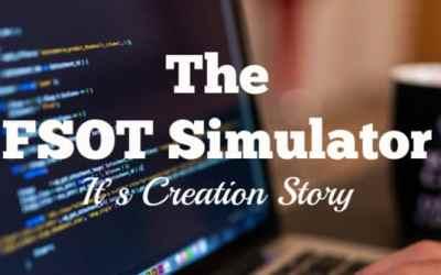 The FSOT Simulator: Its Creation Story