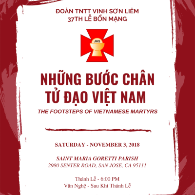 37th Lễ Bổn Mạng – Invitation Design
