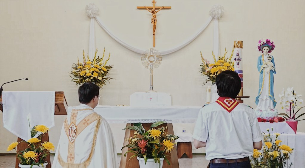 See you in the Eucharist