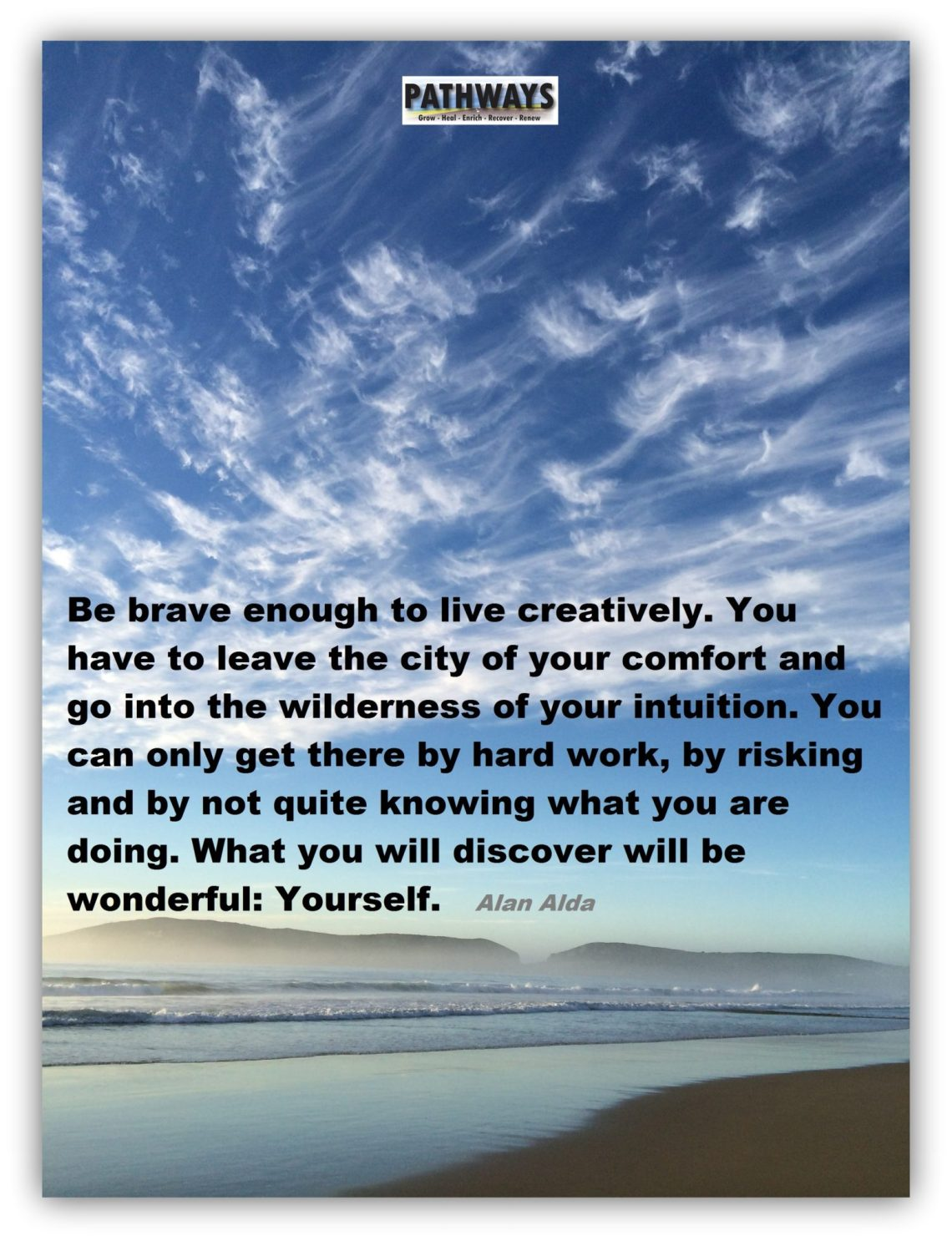live brave in recovery
