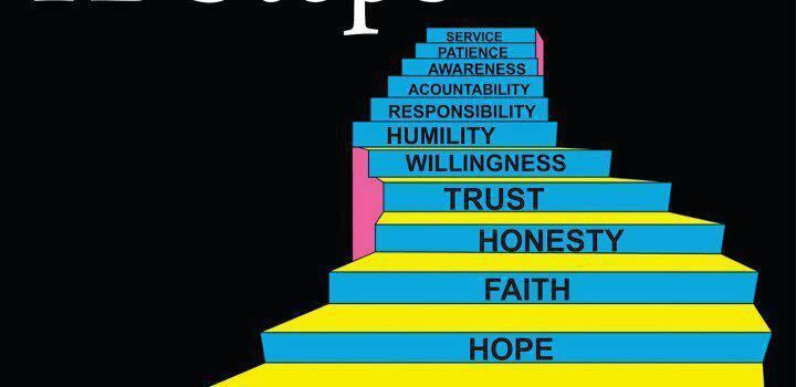 12 step addiction programme