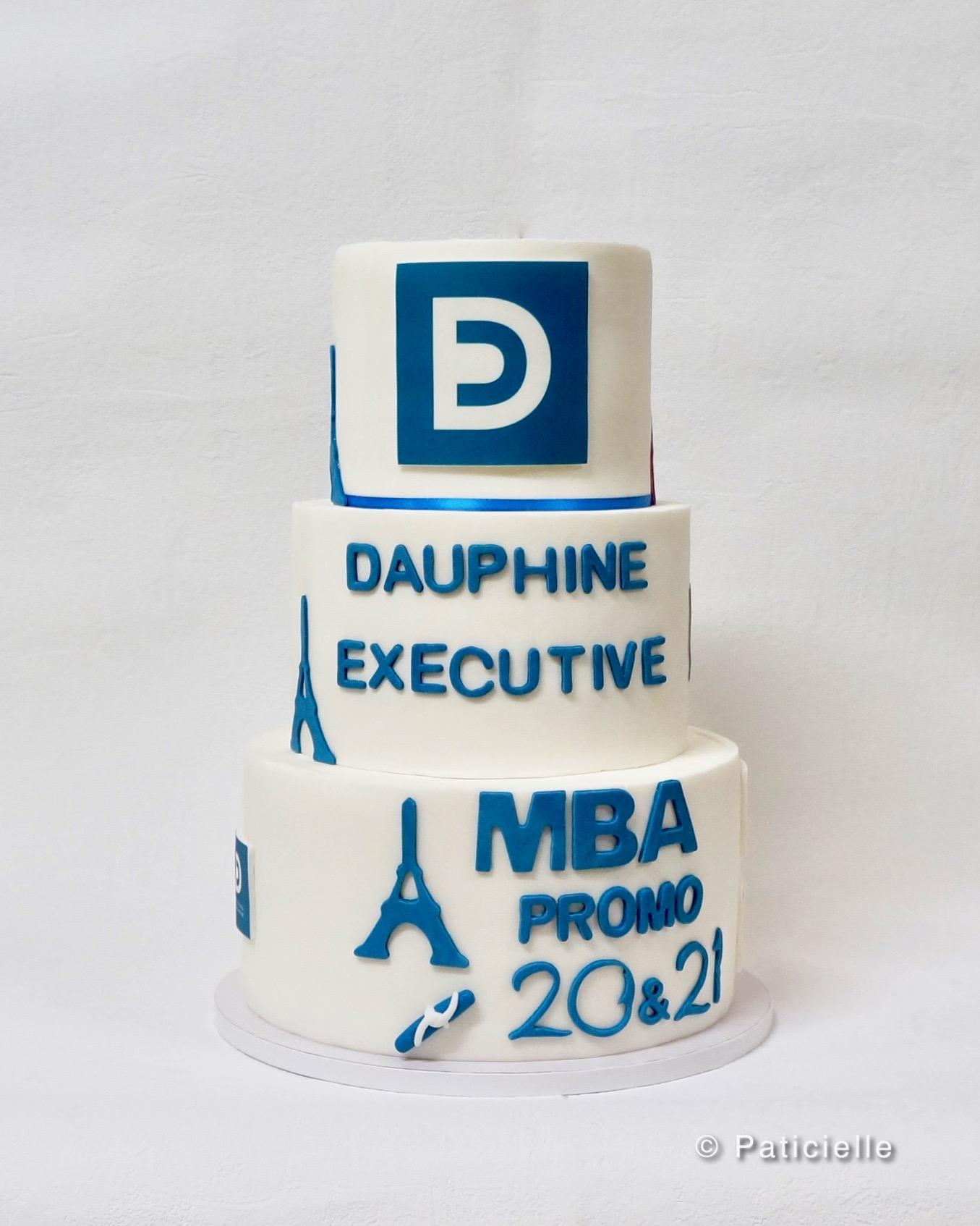 gâteau pour école mba dauphine gâteau corporate paris kinshasa