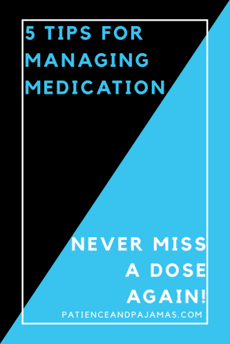 5 Tips for Better Medication Management