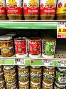 NuttZo Keto Butter jars on a shelf.