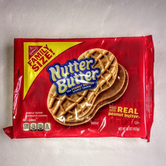 A package of Nutter Butter cookies.