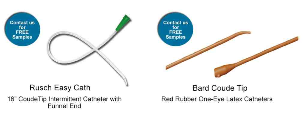 featured coude catheter products