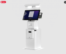 Patient Kiosk Check-In Adjustable Height
