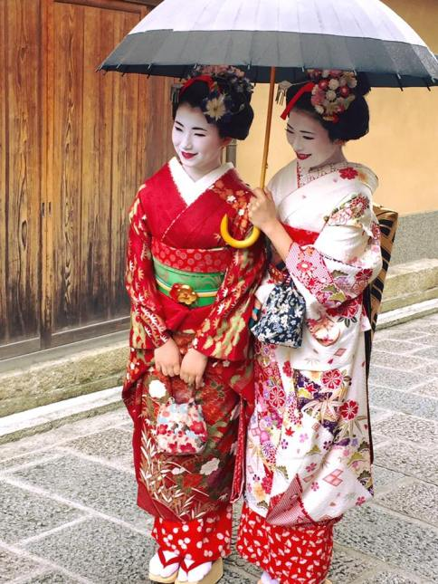 Gion - the Geisha district in Kyoto