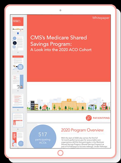 Cms Medicare Shared Savings Program The 2020 Cohort