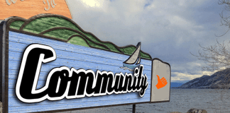 Welcome community sign