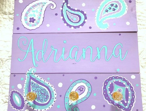 Adrianna's coat rack
