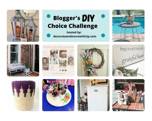 Blogger's DIY Choice Challenge