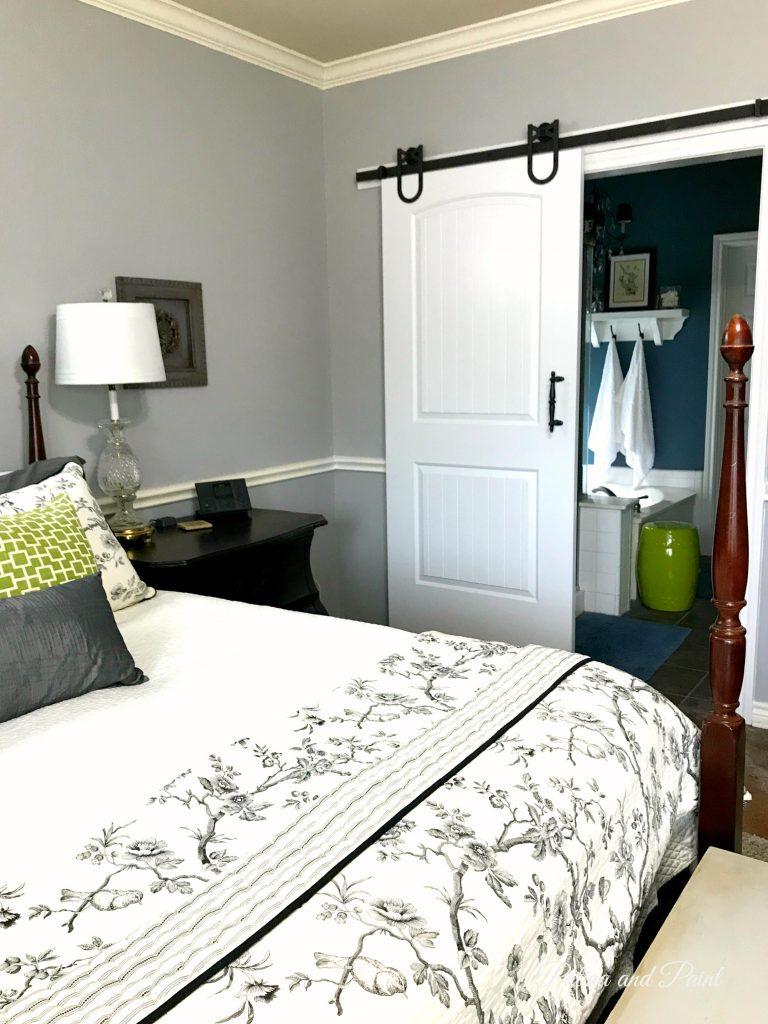 New Bedroom Barn Door