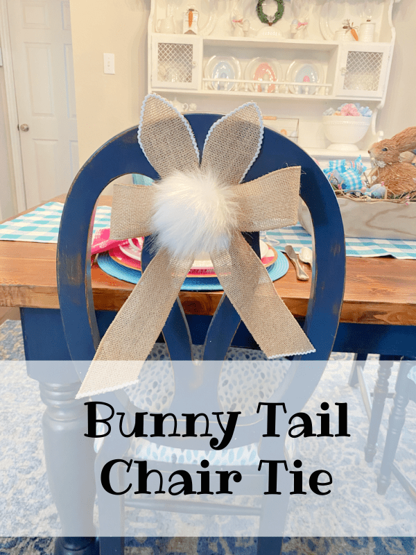 Bunny Tail chair ties