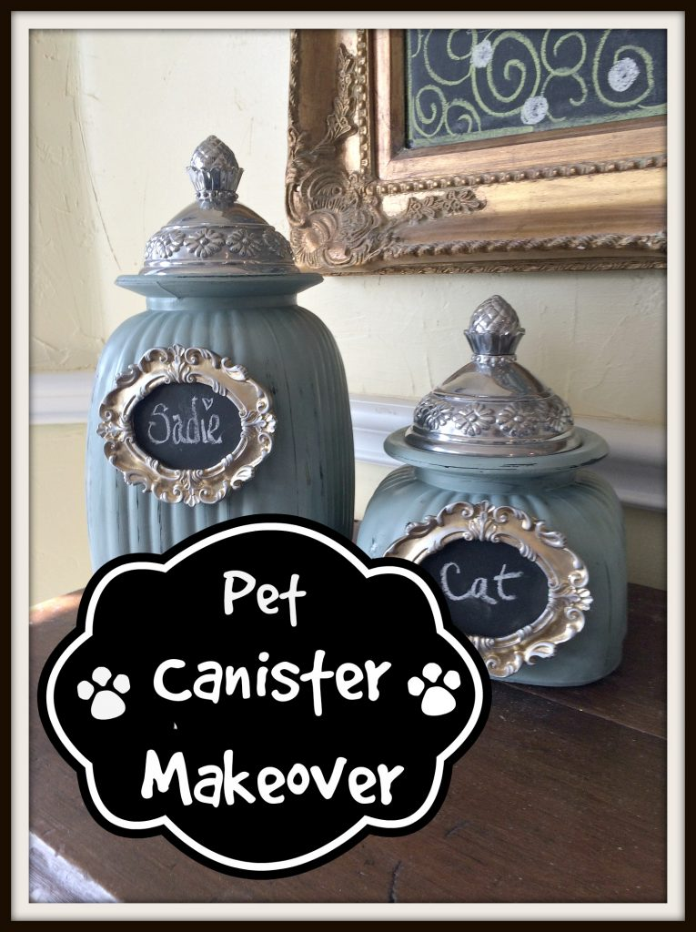 Pet Canister Makeover