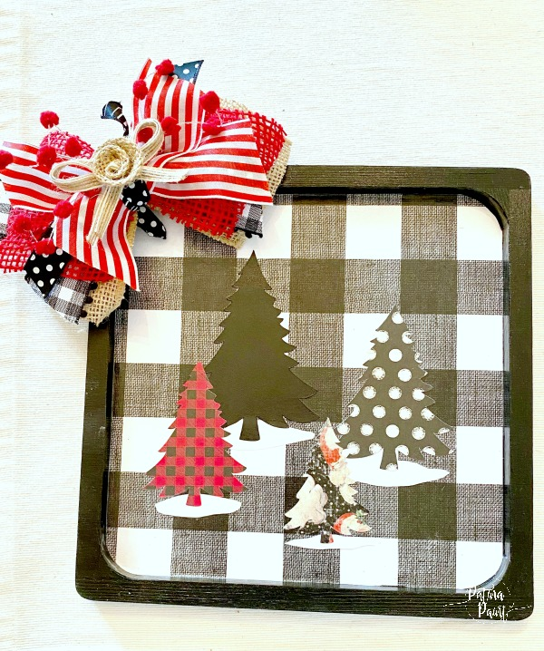 Christmas Tree Plaque