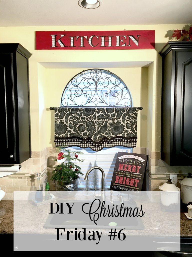 DIY Christmas Friday #6 Christmas Kitchen Sign