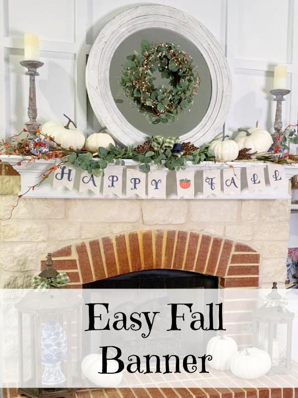 Easy Fall Banner