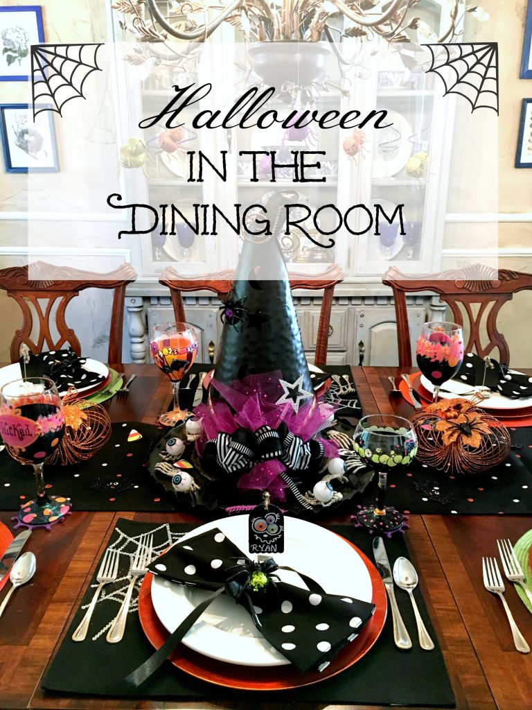 Halloween in the Dining Room