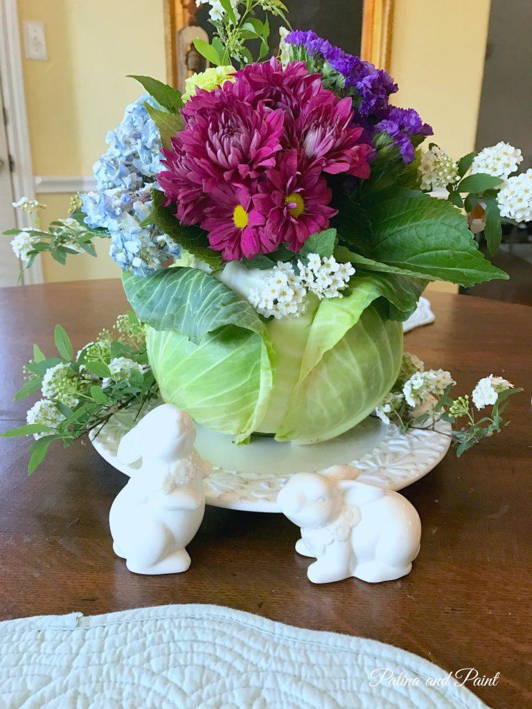 My favorite Spring Flower Arrangement