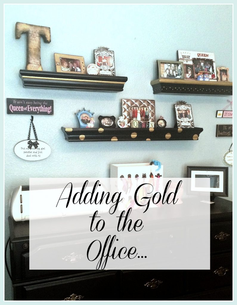 Adding Gold to the Office