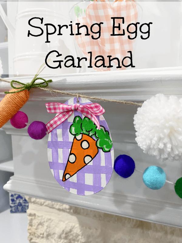 Spring Egg Garland