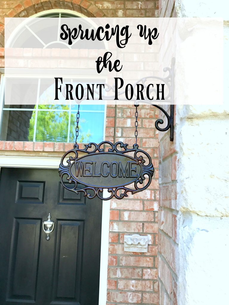 Sprucing Up the Front Porch