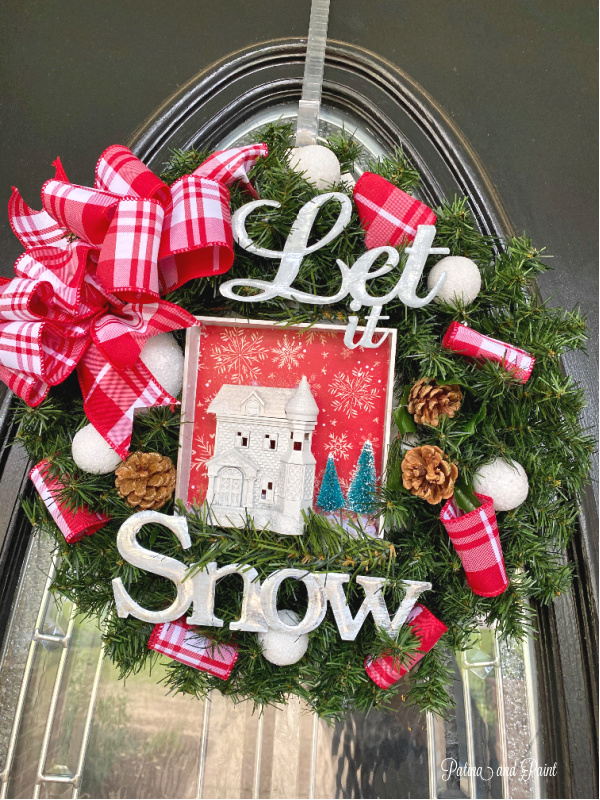 Surprise Box Challenge Wreath